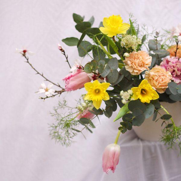 Taller de flores de primavera