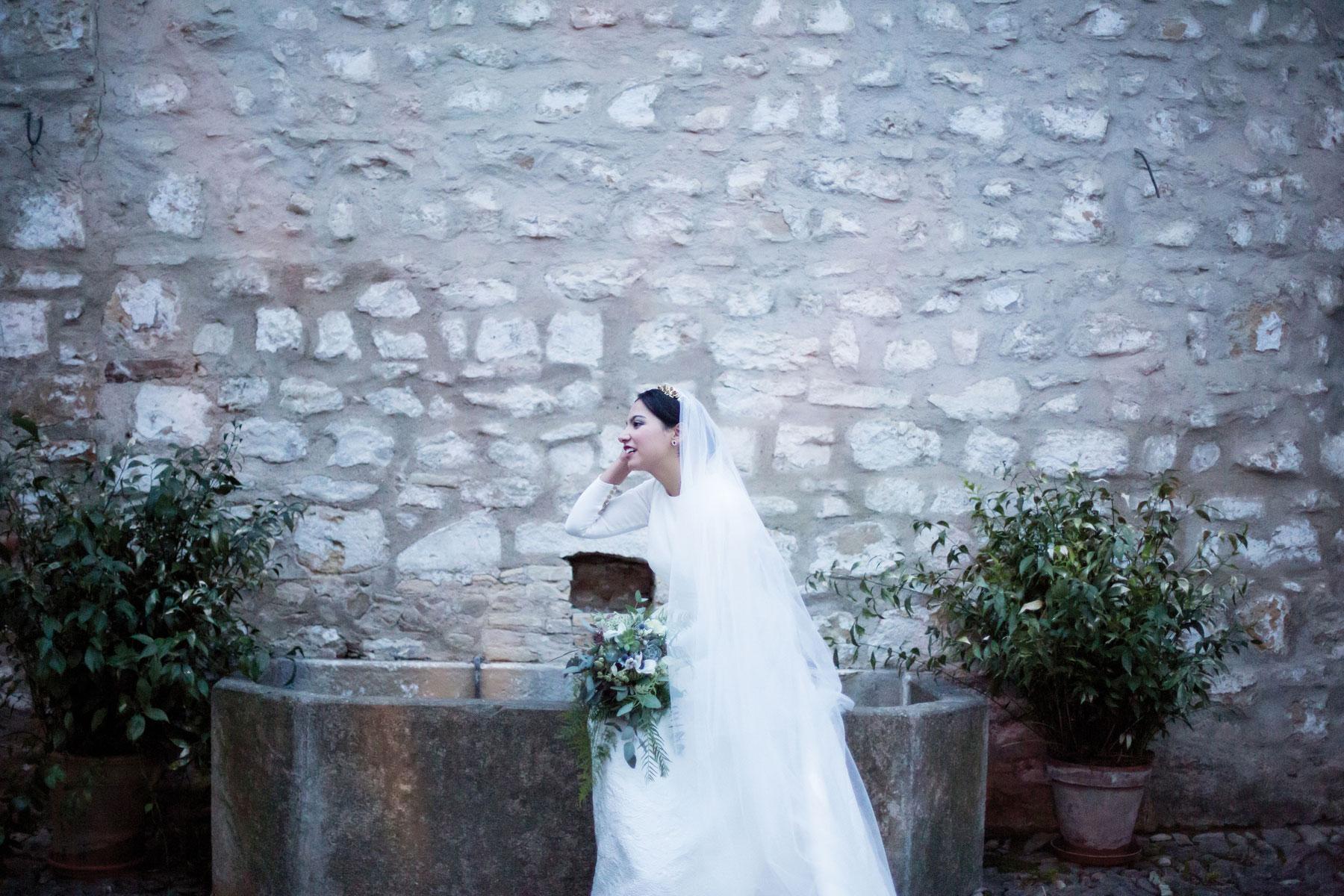 Ramo de novia elegante a medida