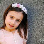 Coronita de flores para niña