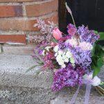 Ramo de novia de lilas